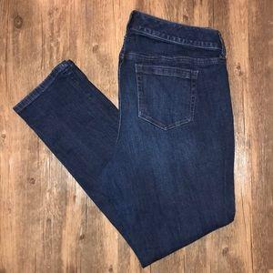 """Torrid Dark Wash """"Boyfriend"""" Jeans Size 14S VGUC"""